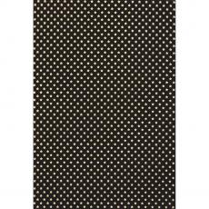 Motivpapier A4 Sterne schwarz/gold