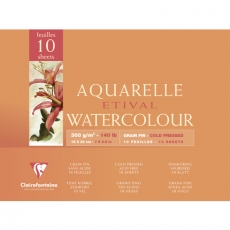 Aquarellapierblock 18 x 24 cm, 300 gr.