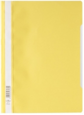 Schnellhefter  A4, aus PP-Folie, gelb