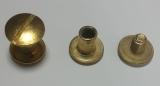 Buchschrauben 10mm gold