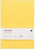 Karten A6 220gr. gelb