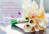 Anlasskarte Hochzeit