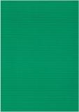 Bastelwellkarton grün