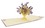 DK Blumenstrauß lila weiß