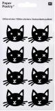 Sticker Katzenkopf