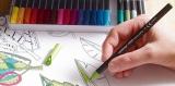 edding 1200 color pen blaugrau