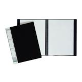 DURABLE Sichtbuch DURALOOK, A4, mit 10 Sichthüllen, schwarz