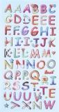 Sticker Buchstaben