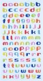 Sticker Klein-Buchstaben