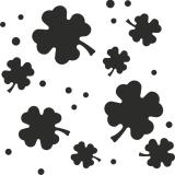 Flexi-Motivstanzer Kleeblätter