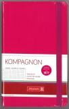 Notizbuch 12,5 x 19,5 liniert pink