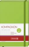 Notizbuch 12,5 x 19,5 liniert kiwi