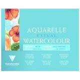 Aquarellapierblock 12 x 18 cm, 200gr.
