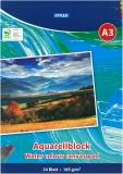 Aquarellblock A3 210 g/qm