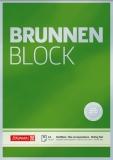 Briefblock Brunnen unliniert 90g/m²
