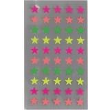 Sticker Sterne Neon