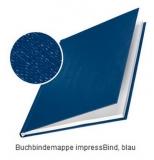 LEITZ Hard-Cover, A4, 106-140 Blatt, blau