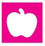 Motivstanzer Apfel