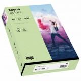 500 Blatt Kopierpapier 80 g/m² A4 mittelgrün