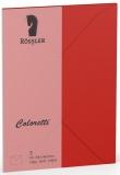 Coloretti-5er Pack Briefumschläge C6 80g/m² klatschmohn
