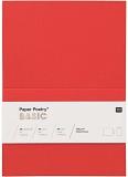 Karten A6 220gr. rot