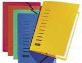 PAGNA Eckspanner, aus Karton, DIN A4, gelb
