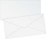 Briefumschläge DL mF 10er perlweiß