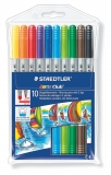 Doppelfasermaler Noris Club®, 10 Farben