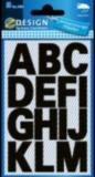 Buchstaben Schrift Univers Bold 71pt schwarz