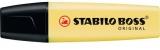 Textmarker STABILO® BOSS® ORIGINAL, Pastel gelb