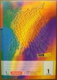 Schulheft A4 16Bl.TCF Lin1