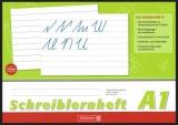 Schreiblernheft  A4 quer A1