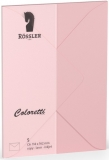 Coloretti-5er Pack Briefumschläge C6 80g/m² rosa