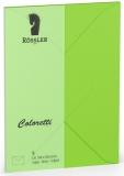 Coloretti-5er Pack Briefumschläge C6 80g/m² hellgrün