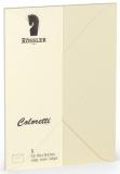 Coloretti-5er Pack Briefumschläge C6 80g/m², creme
