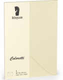 Coloretti-5er Pack Briefumschläge B6 80g/m², creme