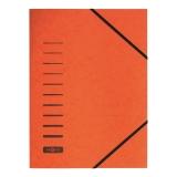 PAGNA Eckspanner, aus Karton, DIN A4, orange