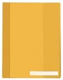DURABLE Sichthefter überbreit gelb
