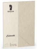 Coloretti-5er Pack Briefumschläge B6 80g/m², sahara braun