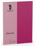 Coloretti-5er Pack Briefumschläge B6 80g/m², Amarena