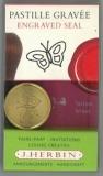 Siegelscheibe Schmetterling