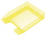 Briefablage A4-C4 gelb-transparent