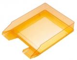 Briefablage A4-C4 orange-transparent