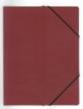DURABLE Eckspanner, DIN A4, PP, rot