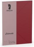 Coloretti-5er Pack Briefumschläge B6 80g/m², rosso