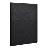 Heft broschiert A4, 96 Blatt, 90g, blanko schwarz