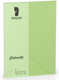 Coloretti-5er Pack Briefumschläge B6 80g/m², peppermint
