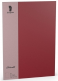 Coloretti-10er Pack Blätter A4 165g/m², rosso