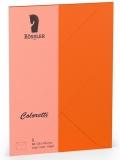 Coloretti-5er Pack Briefumschläge B6 80g/m², apfelsine