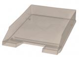 Briefablage A4-C4 transparent, rauchglas